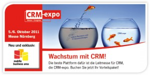 CRM EXPO in Nürnberg - 5th-6th October