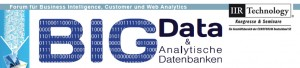 Big Data - Analytical Database Conference in Neuss - 29th – 30th November